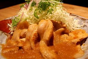 ★ 美明豚ロース生姜焼き定食